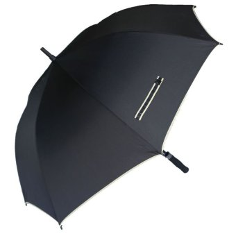 Medc BLK184VC High Quality Golf Umbrella (BLACK)
