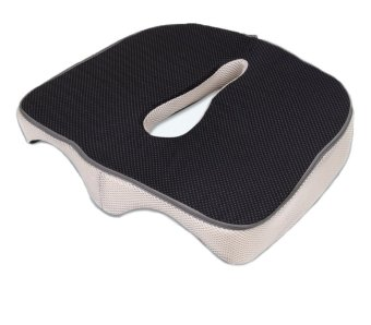 Memory Foam Seat Cushion, Relief Orthopedic - Coccyx - Sciatica - Back - Tailbone - Fibromyalgia and Many Other Back Pain