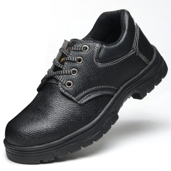 Men steel head anti-smashing safety shoes protective shoes