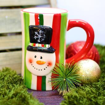 Merry & Bright Collectible Soldier Christmas Mug