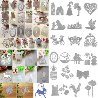 Merry Christmas Cutting Carbon Steel Dies Stencil Template for DIY Scrapbook Album Card Craft Set - intl - picture 2
