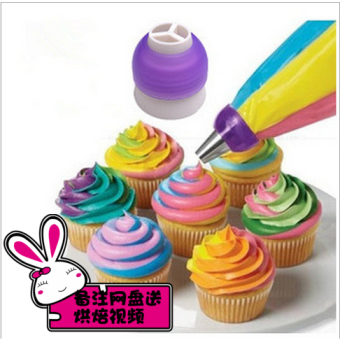 Miandashi adapter baking for making decorating nozzle decorating