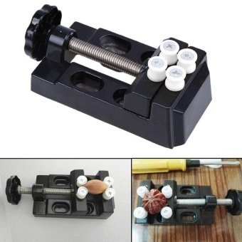 Micro Mini Bench Clamp Vise Soldering Craft Hobby Jewelry Carvingtool Durable - intl