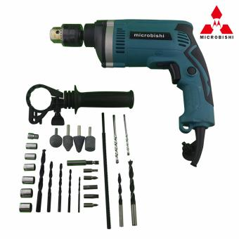 Microbishi Japan Impact Drill Power Drills MID-29SET (Blue) #29886