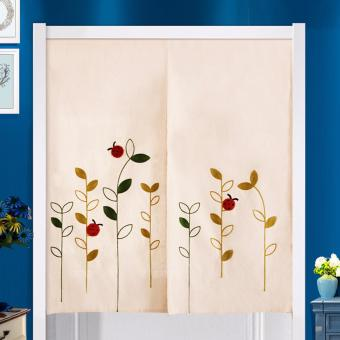 Mimosifolia Door Curtains Bedroom curtain Room Dividers curtain42.5X150CM 2piece /set - intl Price Philippines