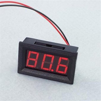 Mini 0.56 Inch AC70-500V Mini Digital Voltmeter Voltage Panel Meter LED Display Red - intl Price Philippines