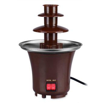 Mini Chocolate Fondue Fountain (Brown)