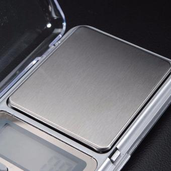 Mini Electronic Digital Jewelry Weighing Scale (Silver) - 3
