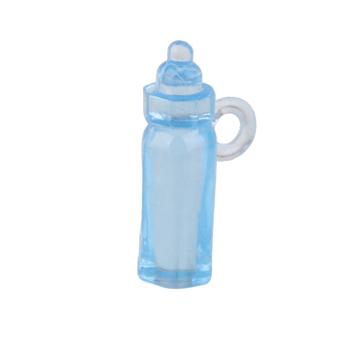 Mini Feeding Bottle Christening Baby Shower Favors Party Decor 24pcs Blue - 3