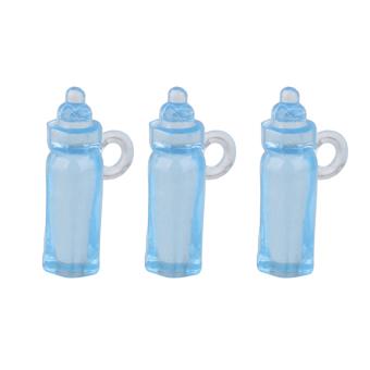 Mini Feeding Bottle Christening Baby Shower Favors Party Decor 24pcs Blue - 2
