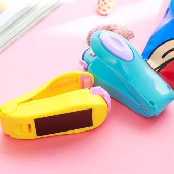 Mini Heat Sealing Machine Impulse Sealer Seal Packing Plastic Bag(Yellow) - 3