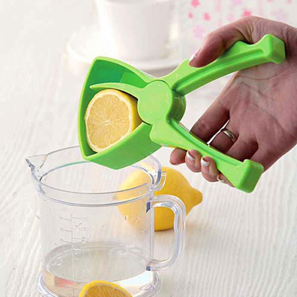 Mini plastic Manual Fruit Orange squeezers Press Lemon Citrus JuiceExtractor Juicer fruit juice squeezing - Intl