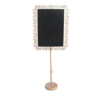 Mini Rectangle Chalkboard Blackboard Stand Table Number StandWedding Lolly Party (B)