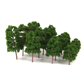 Mix Size Model Trees Deep Green For N HO Scale Layout Diorama Scenery Price Philippines