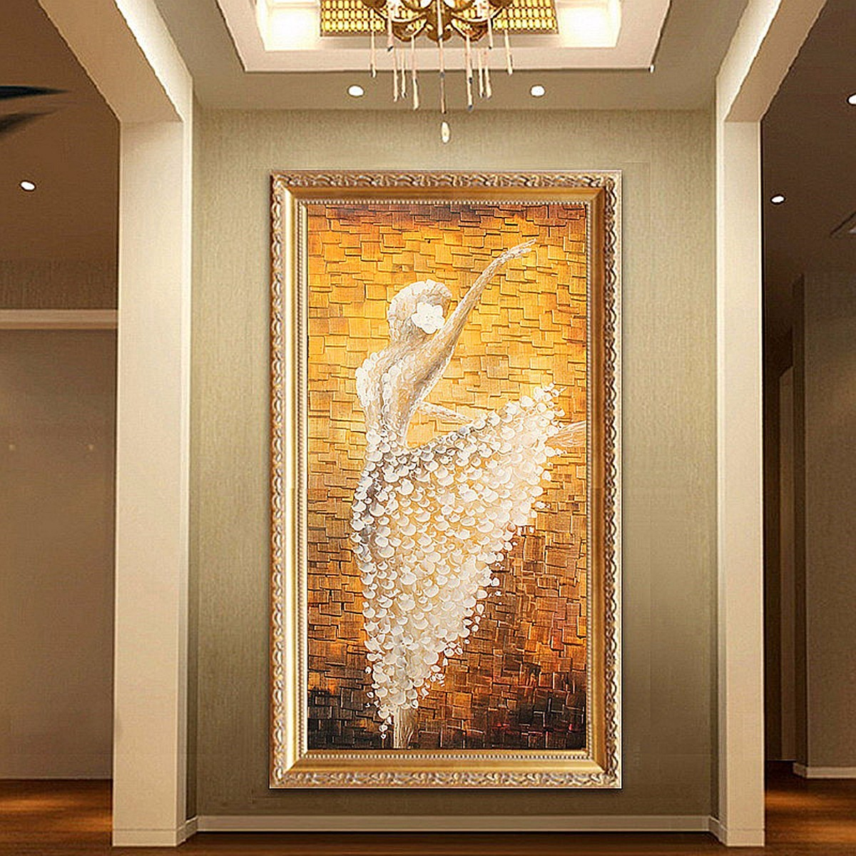 Philippines | MODERN ABSTRACT HUGE WALL ART OIL HAND PAINTING ON ...