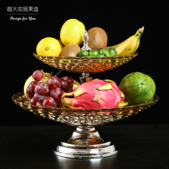 Modern European living room dry fruit bowl tall fruit bowl