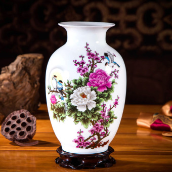 Modern Jianyue ceramic porcelain living room flower arrangement small vase