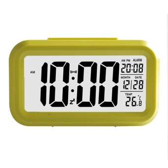 Modern Large-Display Digital Alarm Clock LED with Calendarcolor:Green - intl
