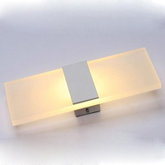 Modern led acryl wall lamp 110V 220V 8W bedroom bedside light foyerstudy decoration Sconce - intl - 3
