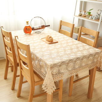 Modern minimalist fabric dining table coffee table cover towel WISHING TREE