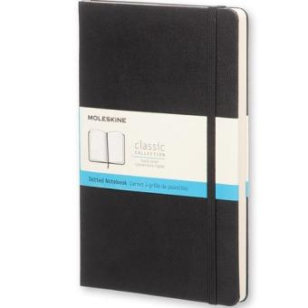 Moleskine Classic Hard Cover Dotted Large Notebook (Black)
