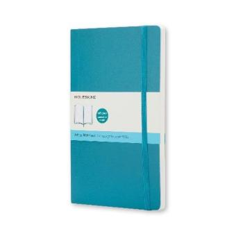 Moleskine Classic Soft Covered Dotted Pocket Notebook (UnderwaterBlue)