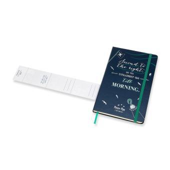 Moleskine Limited Edition Peter Pan Large Ruled Notebook (SapphireBlue) - 5