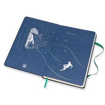 Moleskine Limited Edition Peter Pan Large Ruled Notebook (SapphireBlue) - 3