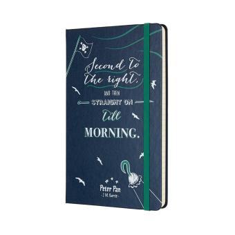 Moleskine Limited Edition Peter Pan Large Ruled Notebook (SapphireBlue) - 2