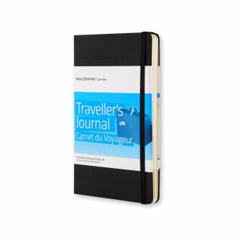 Moleskine Passions Travel Journal Large Notebook (Black)