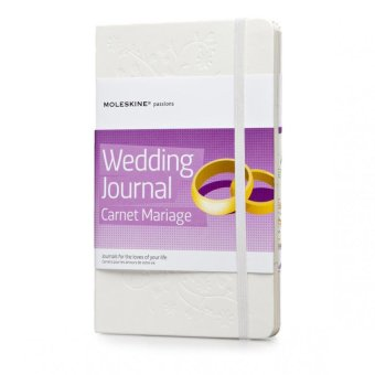 Moleskine Passions Wedding Journal Large Notebook (White)