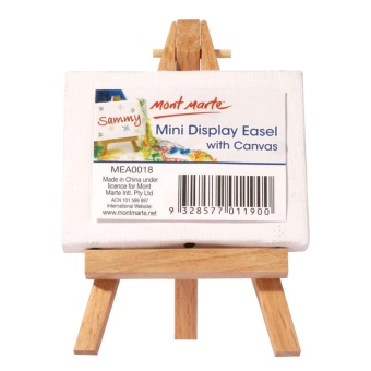 Mont Marte Mini Canvas and Easel Set 12mm. Price Philippines