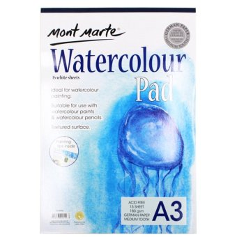Mont Marte Watercolor Pad (A3) Price Philippines