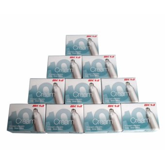 Mosa Cream Charger 8g 10's set of 10 boxes (silver) Price Philippines