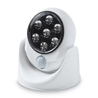 Motion Activated Cordless LED Night Sensor Light (White)