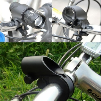 Mount Bicycle Bike Flashlight LED Torch Holder Clip Universal Bike Mount Clamp - intl