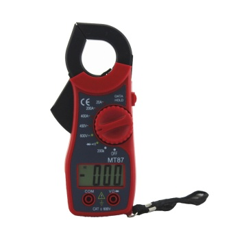 MT-87 LCD Digital Clamp Meter Voltmeter Ammeter Ohmmeter MultimeterAC Test Voltage Meter Measuring Instrument Voltage Tester - intl