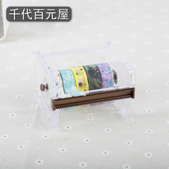 Mt transparent packaging hand tape seat Cutter