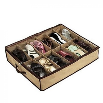 MU Foldable Shoe Storage Cabinets, 12 Pairs Of Shoes, 26.77 (L)X22.83 (W) X 5.90 (H) - intl Price Philippines