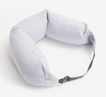 Muji u-shaped neck pillow travel airplane head