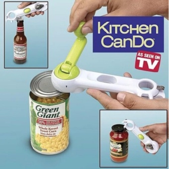 Multi Function Can Opener (Green)