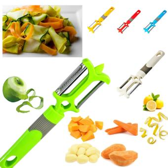Multi-function two-blade peeler Vegetable cutter potato fruit melonflat grater kitchen accessory gadget