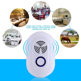 Multi-function Ultrasonic Household Pest Control ElectronicMosquito Insects Repeller- US Plug - intl - 3