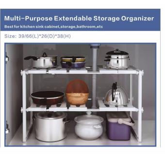Multi-Purpose Extendable Storage Organizer