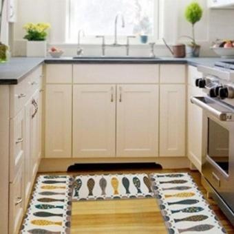 Multicolor Nonslip Carpet Shower Floor Flannel Home Bath Rug Tub Pad Mat - intl - 2