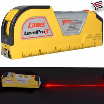 Multifunction Laser Level Measuring Tape 250cm 8 Foot