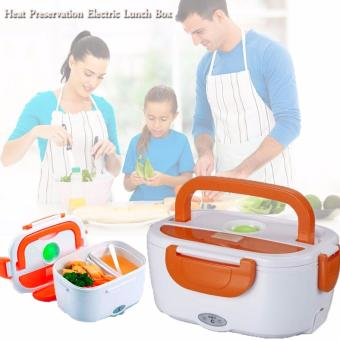 Multifunctional Electric Lunch Box Lunchbox (Orange)