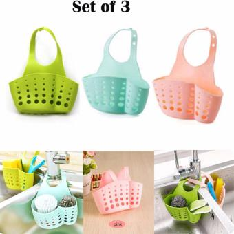 Multipurpose Kitchen Drainage Bag Set of 3(Color may Vary) Price Philippines