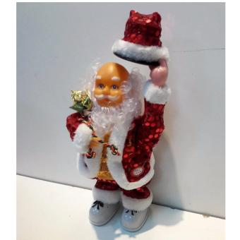 Musical Moving Figure Dancing Santa Claus With Music - 3
