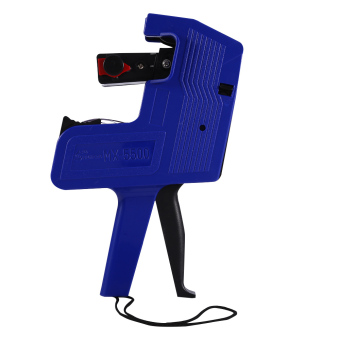 MX-5500 Labeler 8 Digits Price Tag Sticker Gun Retail Tool IncludeLabels & Ink Refill (blue) - intl Price Philippines